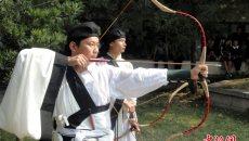 苏州举行乡射礼 重现千年传统