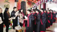 株洲举办首届成年礼 学生着汉服行礼
