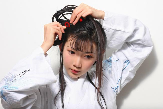 简单易学的汉服发型教程--美发街
