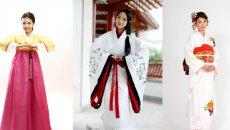 汉服复兴与传统文化 汉服与和服、韩服的对比