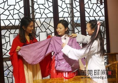 复兴中华传统服饰 东莞汉服爱好者在努力-图片1
