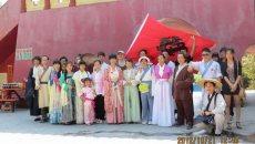 复兴中华传统服饰 东莞汉服爱好者在努力