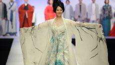 传统与时尚的碰撞,汉服时装秀美图欣赏(二)