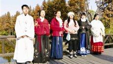 靖江年轻人着汉服 过别样春节
