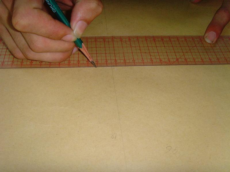 制版与裁剪-汉服裋褐制作详细教程 第一课