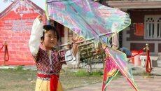 晋江举行寒食节活动 孩子们穿汉服体会传统文化