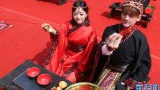 情定老君山——中国·洛阳首届汉服集体婚礼在老君山举行