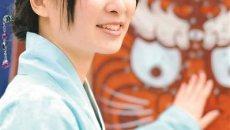 学习5年中文自费定制汉服 日本女孩钟情中国传统文化