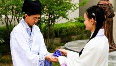 """山东商务职院""""端午汉服大片""""预热传统节日"""