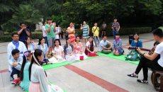 随州汉东雅聚汉服文化社端午节汉服活动盛大举行