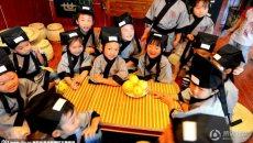 甘肃孩子暑假在童学馆穿汉服、习礼仪 丰富暑假生活