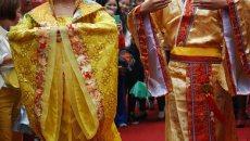龟峰举办首届汉服文化节