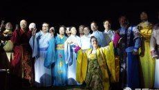 国际雕塑大师齐聚洋湖迎中秋 身穿汉服拜月祈福