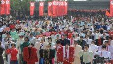 唐宋的镇吹来浓浓汉风  第三届汉服文化周昨在西塘开幕