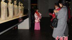 """西安博物院""""小小讲解员""""上岗 着汉服讲述历史"""