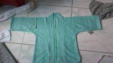 汉服水绿薄棉对襟上襦