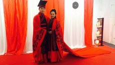 华夏衣冠·汉服文化沙龙在智慧山举办