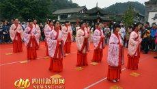 弘扬中华传统礼仪 嘉定坊举行首届汉服成人礼