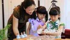 童学馆来啦 到青岛童博会可免费拍汉服亲子照