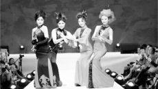 华人让传统服饰变出新花样