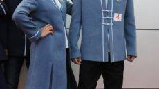 郑州高中生设计校服 融入汉服、旗袍元素彰显中国风