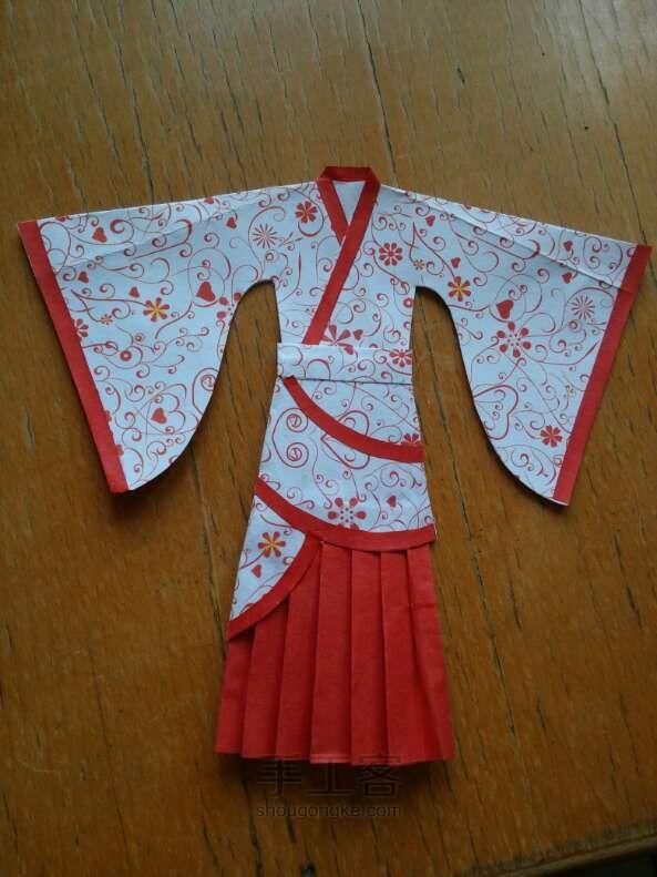 衣服纸制作方法图解