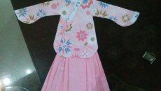 纸汉服「袄裙」的做法