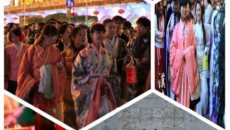 """上海汉未央传统文化促进中心开展""""元宵汉服徒步""""活动"""