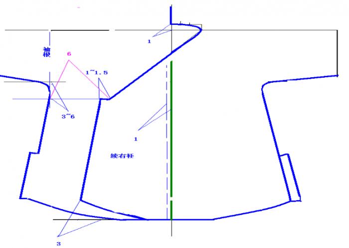 汉服平面设计图