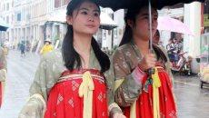瞿溪会市今年引入非遗展示和汉服巡游