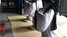 大学生身着汉服祭祀宋相陆秀夫诞辰780周年
