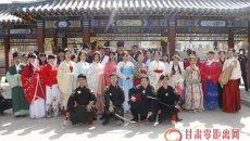 兰州汉服礼仪社举办传统花朝节活动