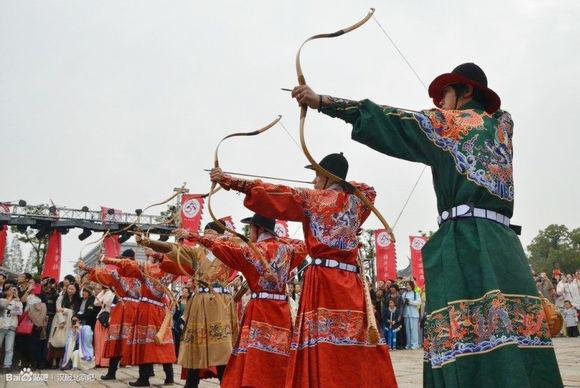 汉服文化—射礼的程序-图片1