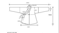 汉服上襦和下裙的裁剪步骤