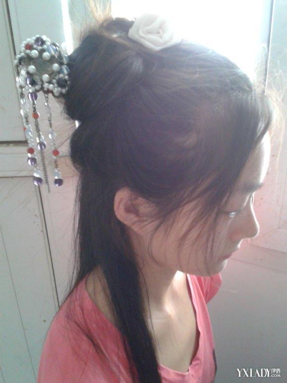 美丽汉服发型的简单扎法 学会的话就可以穿汉服啦!