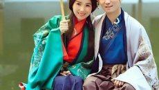 汉服婚纱照 拍出中式传统美感