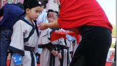 唐山首家童学馆开馆 20名幼儿着汉服习国艺