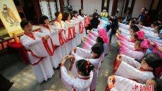 汉服成长礼 传统书香代代传