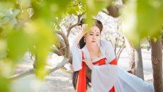 海归女摄影师情迷古典文化 演绎汉服美人