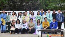 南京理工大学泰州科技学院松风汉韵社举办汉服乐舞展示活动