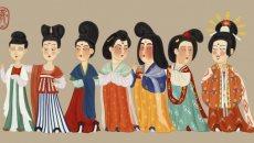 红粉妆-中国古代汉族女子妆容之四
