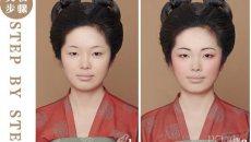 桃花妆-中国古代汉族女子妆容之五