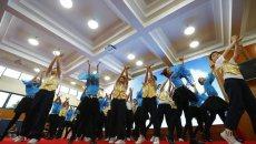 上海一小学举办十岁生日会 着汉服吟诵《弟子规》