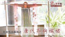 [视频]纸艺华服 - 中国传统服饰之唐代齐胸襦裙制作