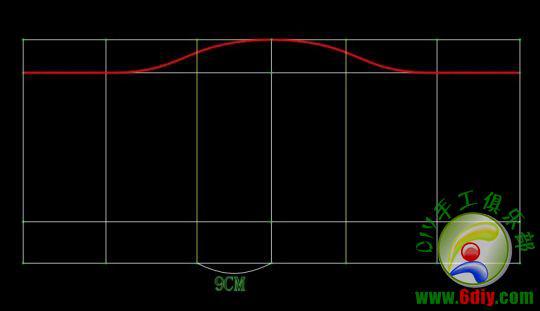前面说过 布是两层的 所以剪出来是两片布片(也就是说抹胸是两层的) 1。分别把两布片的省道缝好(注意 别把省道缝到正面了 缝后正面是平的) 2。省道缝好之后 把两布片正面相对叠放一起 3。如图 沿绿色的线缝一圈, 底下紫色一小段别缝(留个口子等下把抹胸翻过来)