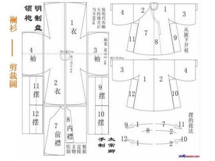 Выкройки китайских костюмов