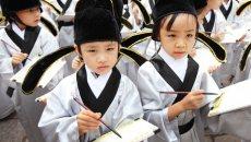 高明160名稚童着汉服参加开笔礼
