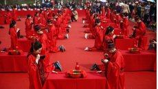 合肥三河古镇国庆当天将举办一场传统汉服集体婚礼
