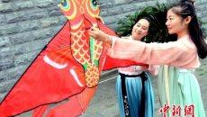 福州九九重阳再现传统民俗 诗赋耀佳节