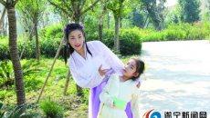 弘扬中国传统文化 洪城母女上演汉服秀